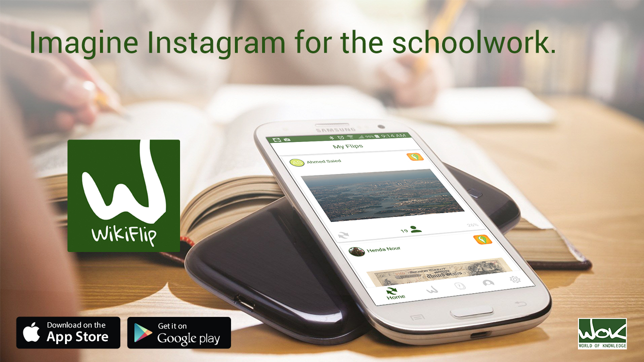 WF ad6 imagine Istagram for schoolwork